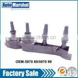 Original Factory Quality automobile ignition coil 597081 5970A3 597080 for PEUGEOT CITROEN
