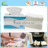 super strong disposable non-woven bamboo fiber cleaning wipe