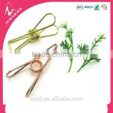 rose gold silver color wire folder binder clips for creative stationery gift sets 32mm 55mm 70mm