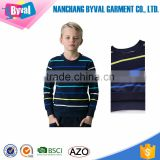 Boys Cotton Crew Sweatshirts Fleece Jumpers Long Sleeve Winter T-Shirts Kids Stripe Sweatshirt Hoodies Wholesale Hot Google Sale
