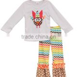 2017 fashionable children fall clothes girls turkey thanksgiving baby clothes for Wholesale