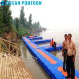 HDPE floating pontoon floating dock floating platform on water for sale