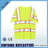 Fluorescence Color Safety And Soft T-shirt