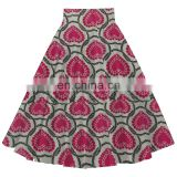 online shopping latest design african print fashion women vintage women umbrella swing skirt
