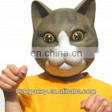 New Brand Made Adult Rubber Full Face Kitty Cat Mask From Japan