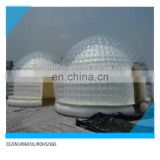 hot sale inflatable transparent dome,transparent dome tent,outdoor camping inflatable clear air dome tent