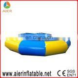 floating bouner inflatable water bouncer inflatable water trampoline