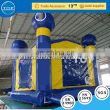 Indoor inflatable bouncer toys/inflatable bouncer moonwalk/inflatable bouncer with net