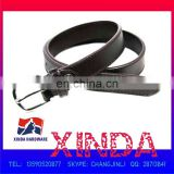 102 x 3cm Genuine Leather Belt with 50 x 35mm Alloy Buckle, One Rivet, OEM Orders are Welcome