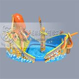 China manufacturer inflatable used water slides/big water slides for sale