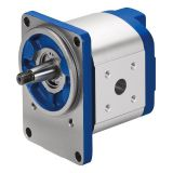 Azpj-22-025rho20mb Metallurgical Machinery Rexroth Azpj Cast Iron Gear Pump Thru-drive Rear Cover