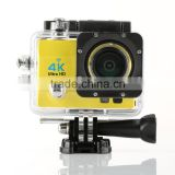 China Supply 4k sport camera 16-megapixel HD wide-angle lens Wholesale Sport action camera