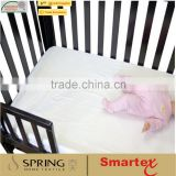 waterproof 100 cotton breathable baby cot mattress protector