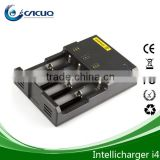 2014 new Intelligent charger nitecore i4 intellicharger