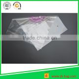 see through plastic bags reclosable poly bag with adhesive tape