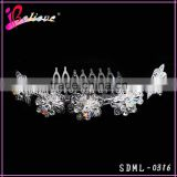 Hair jewelry wholesale diamond flower hair comb chinese wedding hair accessories