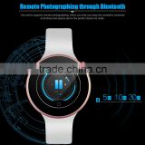 New Smart Bluetooth Watch Heart Rate Track Smart Watch with Siri Gesture Control Flashlight Calculator Support Siri WiFi Alarm