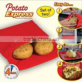 Articles for daily use microware potato baked bag fast cooking washable cooker steam pocket