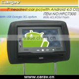 Hot seller Andriod 4.0 OS tablet car pc with battery