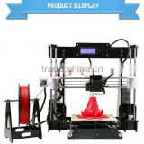 High Precision Reprap Prusa Industrial i3 DIY 3d Printer machine with metal 3d printer workbench