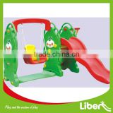 Small cheap plastic indoor slide for baby slide (LE. HT.046)