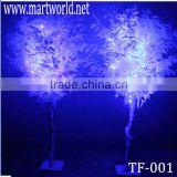 Lighted trees for wedding decoration, white wedding centerpieces tree,tall wedding trees for Christmas wedding (TF-001)