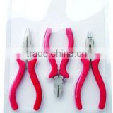 3 PC Jewelry plier sets hand tools with item no JP3021
