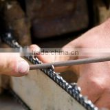 round chain saw files high carbon steel for filing chain rakers