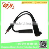 Hot Selling New Two cables car radio antenna extension wire with socket radio connector adapter