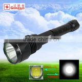 GOREAD Y31 High bright torch rechargeable tactical flashlight 10W T6 led flashlight torch