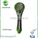Shower faucet accessories plastic shower head wholesale rainfall shower heads sanitary ware items water saving shower