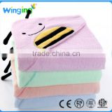 Animal hooded blanket baby towel kid towel bamboo cotton bath towel baby