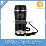 HF-C-01 Stainless Electric Cup Hot Sale Design Car Cup Warmer 12V Electric Heated Cup