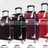 Rolling Business Tote Bag Laptop Case Carry On Luggage Ladies Travel Wheeled bag NEW