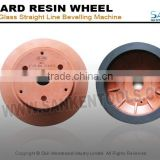 Resin bonded grinding wheels for beveling machine