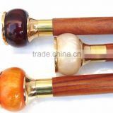 3 Different color of walking canes/Antique brass walking canes/ Stylish walking canes wk1109