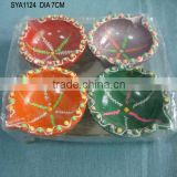 Wholesale decorative clay Diwali diyas diwali gifts