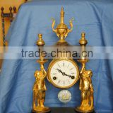 discount brass clock