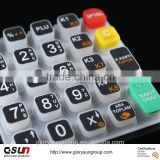 OEM Home Appliance High Quality silicone rubber Keypad