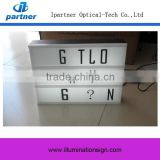 China Low Price Custom Led Light Box With Letters