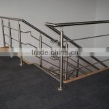 upstairs stainless steel guardrails