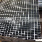 hot dipped galvanized steel bar grating weight with good strength large carrying capacity