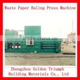 full-Horizontal Waste Paper Baler Pressing Machinery Price/Waste Paper Bale Pressing Machine