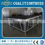 Aluminum Stage Folding Portable Stage,.Outdoor Portable Stage, Used Stage For SALE