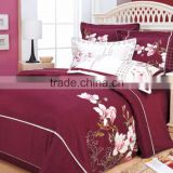 cotton bed sheets in china/Super Soft High Quality Quilt Cover Bed Cover BedSpread Bed Sheets
