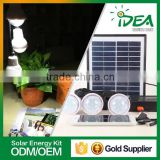 The best price portable folding solar panel energy saving product lighting system kit set for home