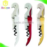 A personalized service for waiters metal corkscrew multifunction wine bottle cap opener knife
