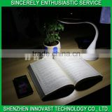 fashionable patterns led table lamp CE&ROHS approved led desk lamp with high quality