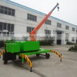 made in china alibaba supplier electric rotation spider crane