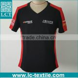 v neck overseas cheap t shirt manufacturer bangladesh LCTN1794